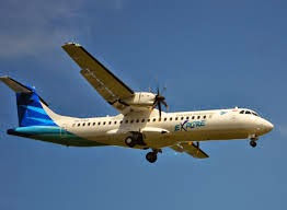 Pesawat Garuda Explore ATR72-600 ini yang akan melayani rute Surabaya-Banyuwangi
