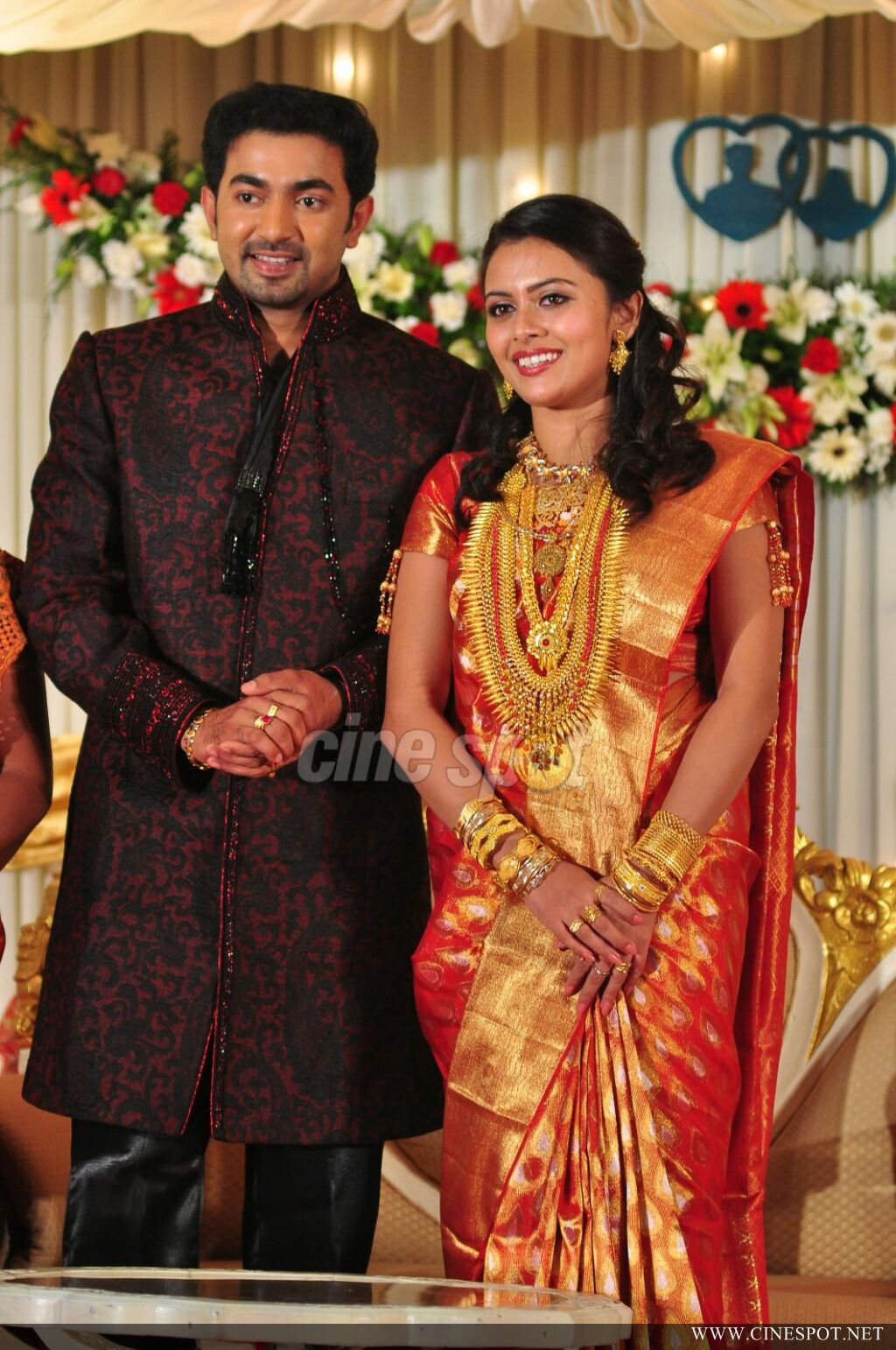 Dhanya Mary Varghese Marriage Reception Photos Of Navya
