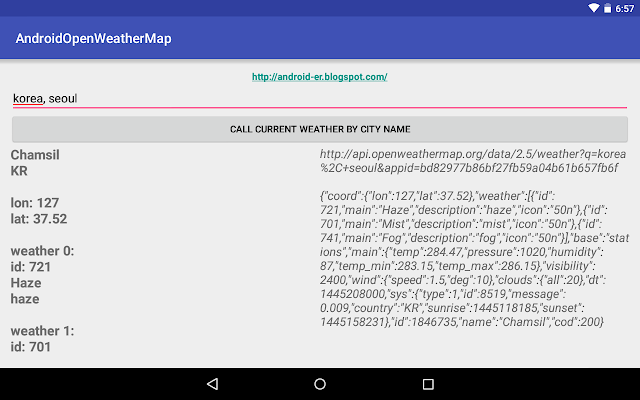 Android Question Electrical Flow Conditions Using Openweathermap's Conditions Api