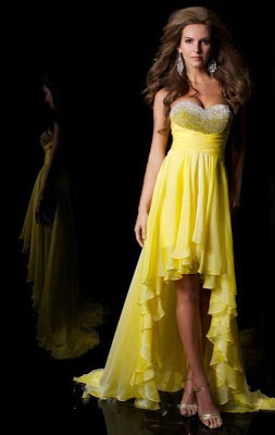 Best Fashion: Yellow Dresse