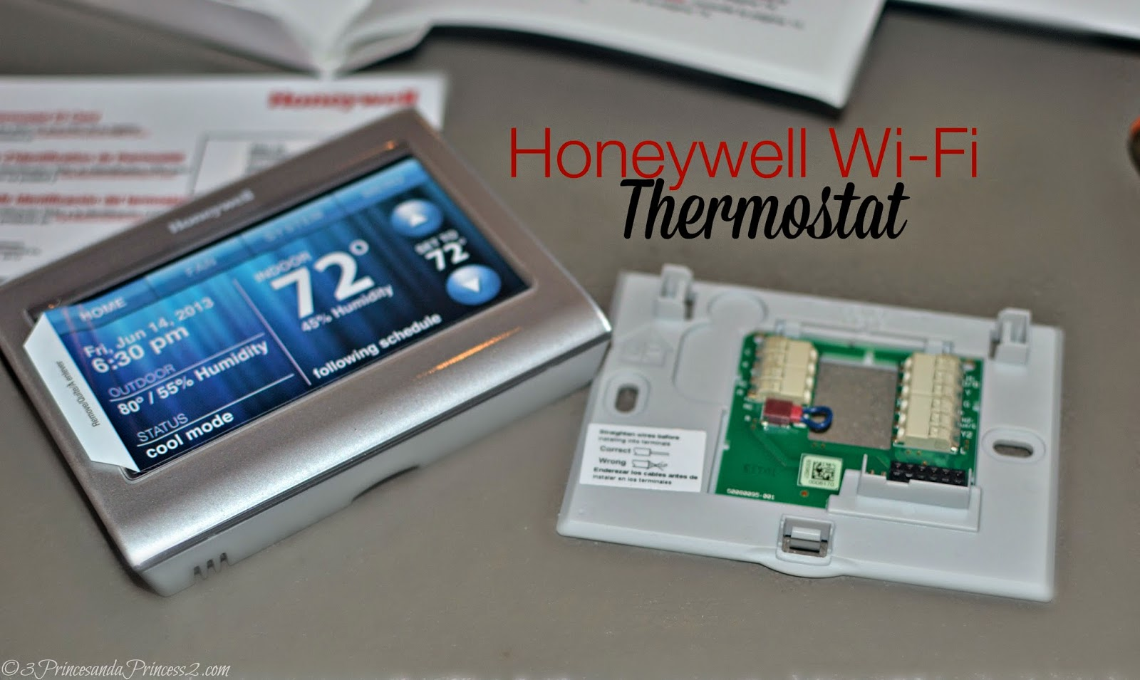 Honeywell Wi-Fi Thermostat #giveaway