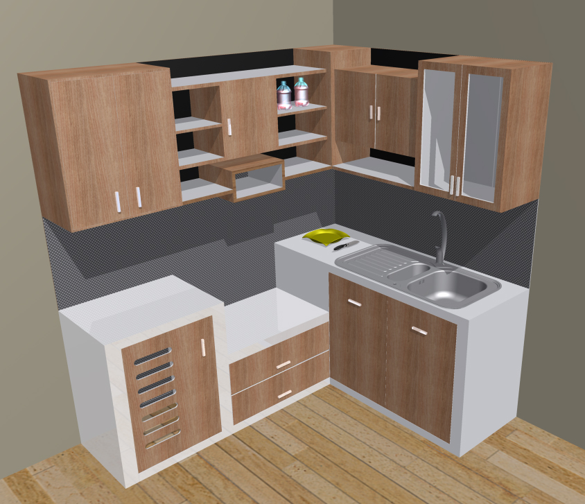 Kitchen set minimalis for Kitchen minimalis