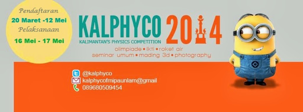 Kalimantan's Physics Competition 2014