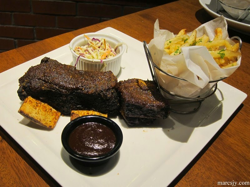 T.G.I Friday's Premium Ribs Extravaganza - New Handcrafted Crusted Ribs Menu