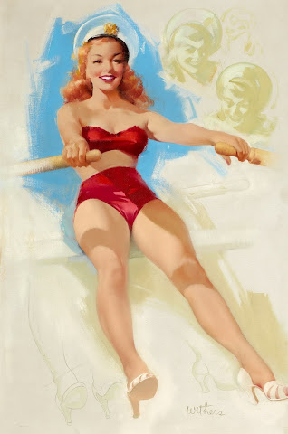 Ted Winters pin up