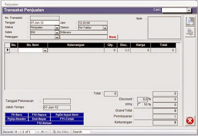 Software Program Kasir Gratis