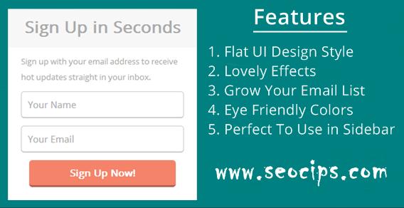 Membuat Widget Email Subcribe Keren di Blogger