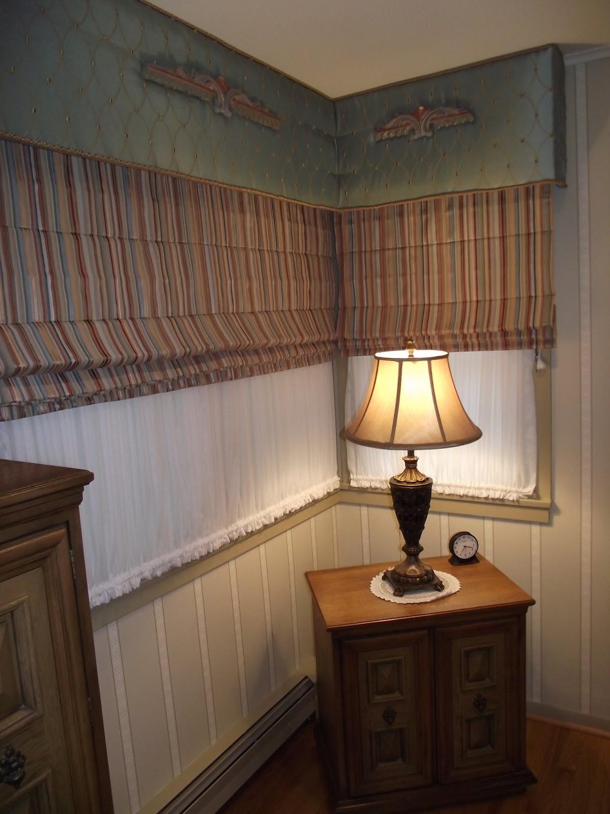 Custom window treatments cornice boards and custom for Custom windows