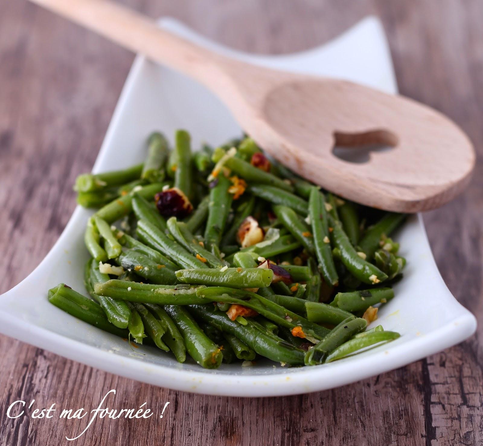 est ma fournée !: La salade d'haricots verts d'Ottolenghi