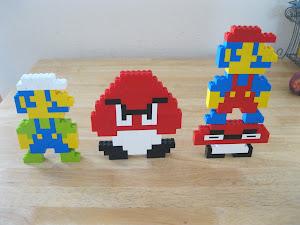 Lil' Boo's Mario Crew
