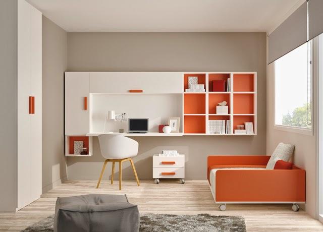 Tendencias en habitaciones juveniles 2014 ideas - Dormitorios juveniles 2014 ...
