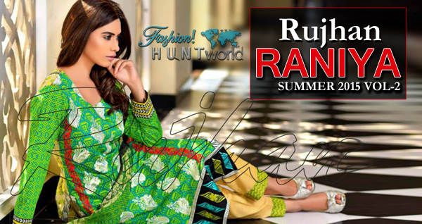 Raniya Summer 2015 Vol-2 By Rujhan Fabric