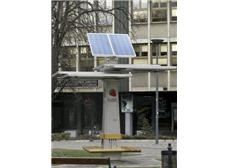 Serbian students create solar public battery charging