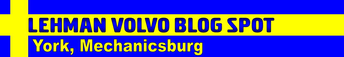 Lehman Volvo Blog Spot