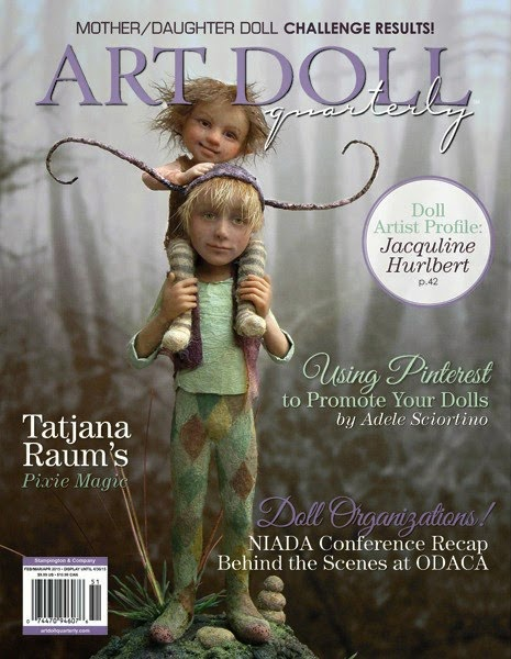 Art Doll Quarterly, Spring 2015