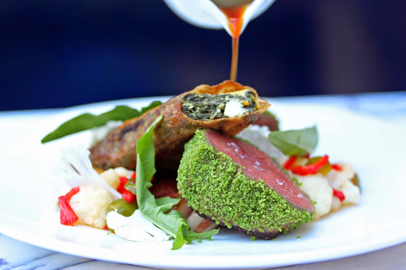Amuse * Bouche for Lamb Loin Fine Dining  174mzq