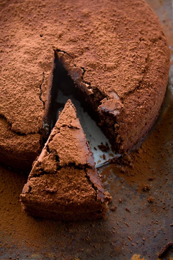 Nigel Slater Flourless Chocolate Cake