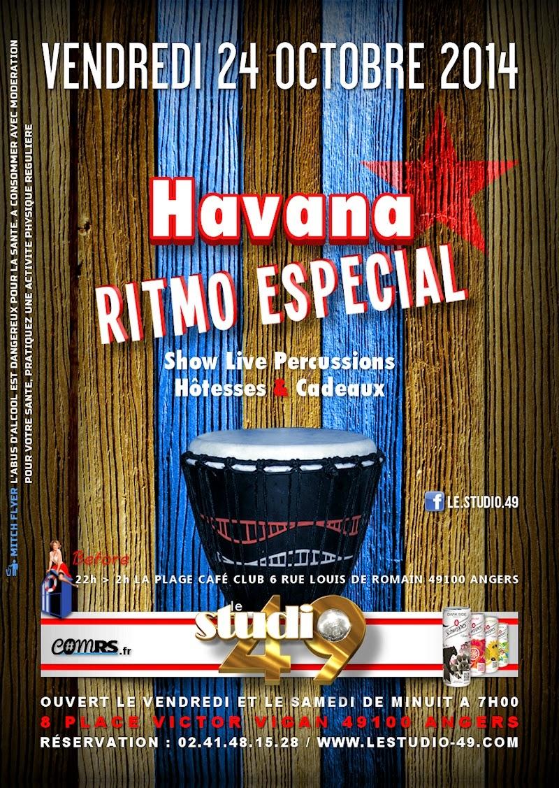 soirée à Angers : Havana Ritmo Especial