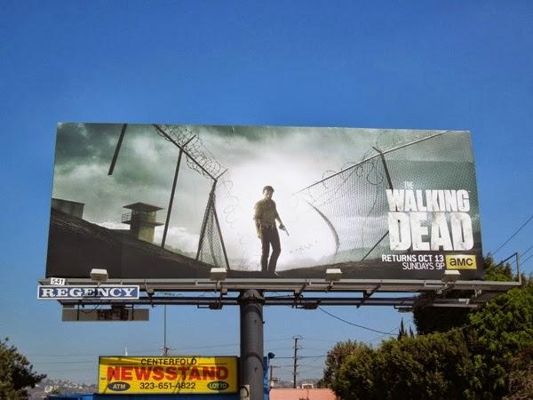 Walking Dead series 4 billboard