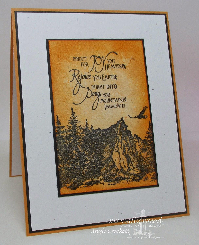 ODBD Keep on Climbing, Card Designer Angie Crockett
