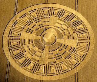 2012 Mayan Crop Circle