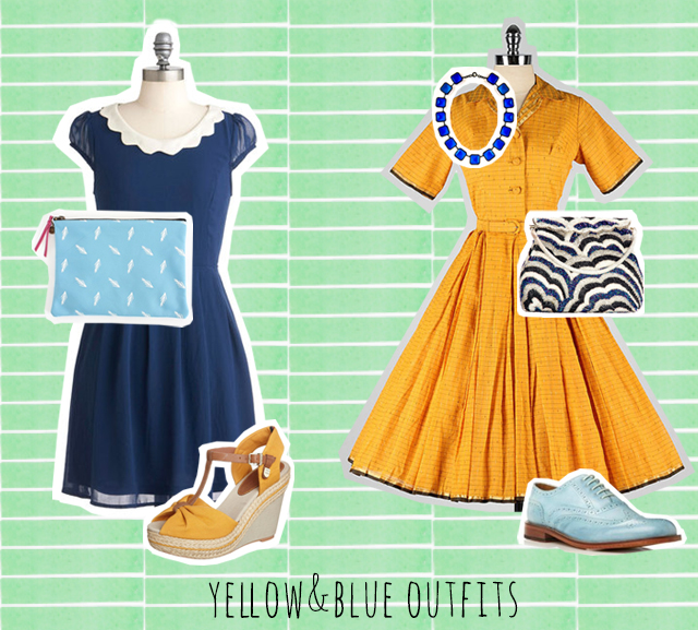 colour combo love   yellow and blue