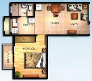 Bali Oasis Marcos Highway Pasig 1 Bedroom Unit, Condominium for sale in Marcos Highway, Filinvest