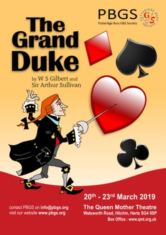 The Grand Duke: 20-23 March 2019