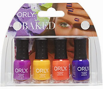 Orly Hot Tropics, Tropical Pop, Ablaze, and Saturated