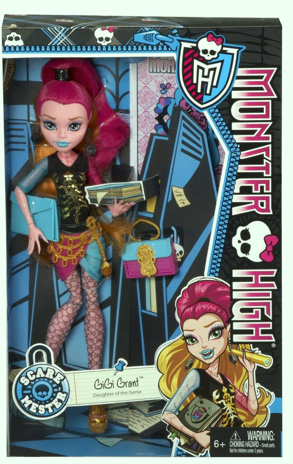 Monster High-Pretty : Gigi Grant New Scaremester