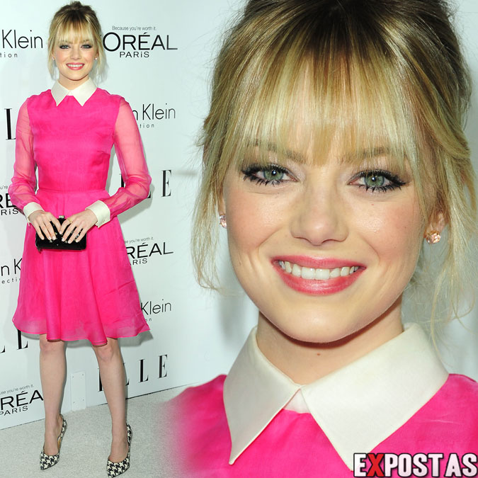 Emma Stone: ELLE's Women In Hollywood event em Beverly Hills - 15 de Outubro de 2012