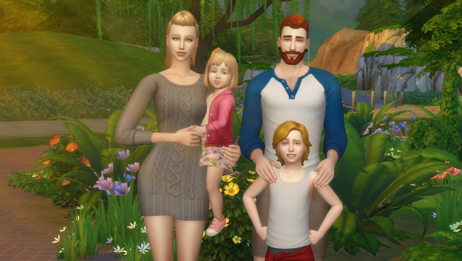 Now There Are 4 Poses Per Sim It Is A Great Set For Taking Portrait Picture Of Your Family Isnt I Hope You Appraciate