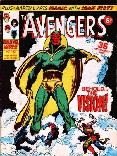 Marvel UK, Avengers #82, Behold the Vision