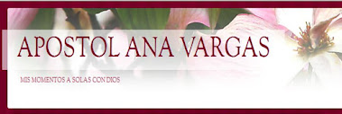 BLOG APOSTOL ANA VARGAS