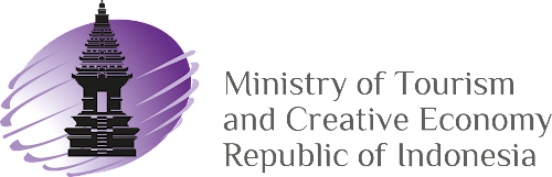 Ministry of Tourism and Creative Economy Republic of Indonesia logo - 237desain