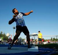 ATLETISMO - Borja Vivas lanzó 20,72 metros para obtener la mínima de Río