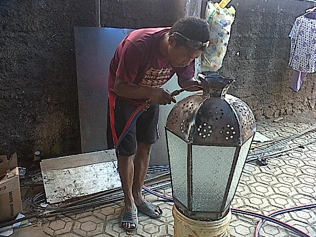 lampu tempa