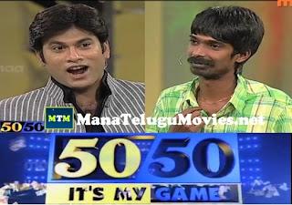 Comedian Dhan Raj in Omkar's 50-50 Game Show