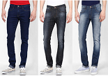 Buy Any 3 Jeans, Shorts & Denims at Rs. 1299 with Free Shipping