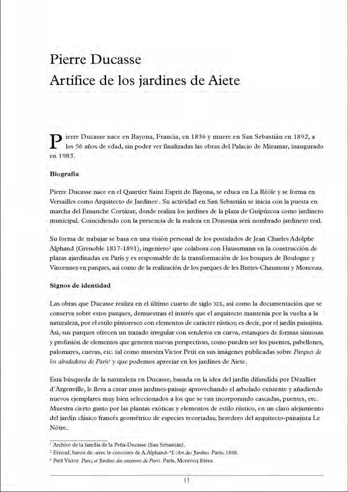San Sebastián / Patrimonio Cultural: Informes. Artículos. Opinión