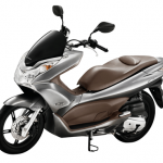 Honda PCX Silverstone Metallic