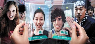 Samsung apresenta tela flexível de nome Youm