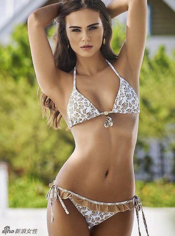Hot Exotic Supermodel Bikini Blockbuster Perfect Curve Temptation