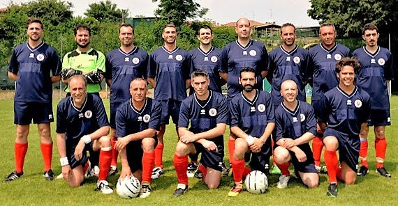 La squadra ANC del terzo Memorial 2015, seconda classificata.