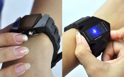 LED WATCH JET PLANE