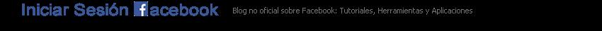 Iniciar Sesión Facebook