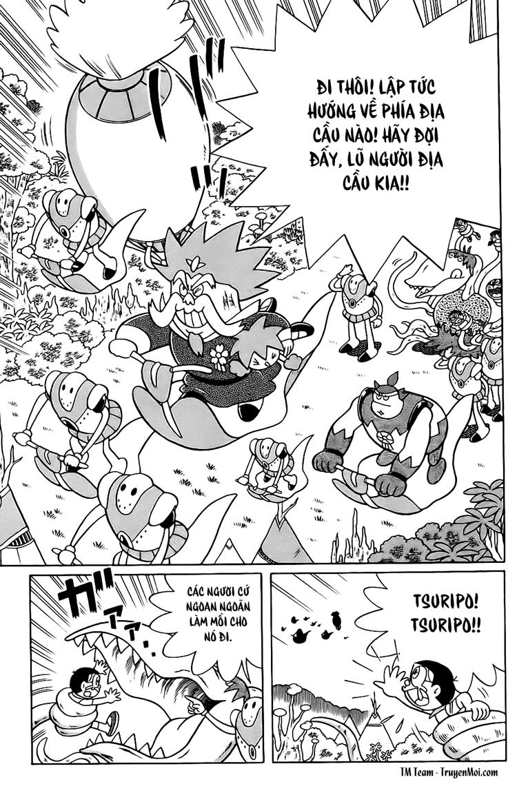 Truyện tranh Doraemon Dài Tập 25 - Nobita và truyền thuyết thần rừng trang 185