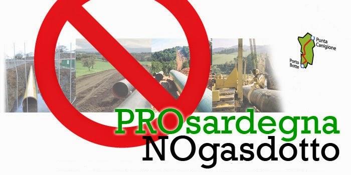 Benvenuti nel blog del Comitato Sardo contro qualunque gasdotto