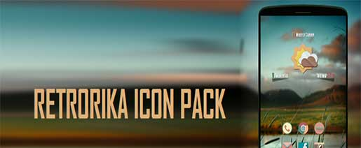 RETRORIKA ICON PACK v1.7 Full Apk