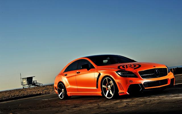 Orange CLS63 AMG